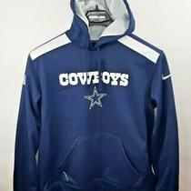 Nike Men's Sz Large - Dallas Cowboys - Pullover Sweat Shirt / Hoodie -Therma-Fit Photo