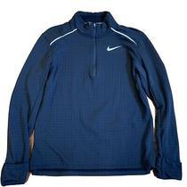 Nike Men's Therma Sphere Element 1/2 Zip Running Long Sleeve Shirt Small Black Photo