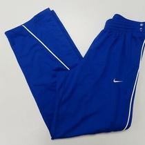 Nike Mens Basketball Performance Elite Tear Away Warmup Track Pants Medium Blue Photo