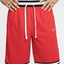 Nike Mens Dri-Fit Dna Basketball Shorts Sz Xl Red/white/black Photo