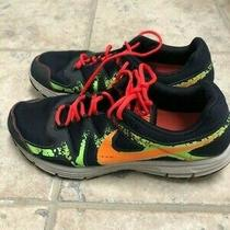 Nike Mens Lunarfly 3 Trl Black and Neon Sneakers Size 11.5 Photo