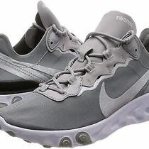 Nike Mens React Element 55 Running Shoes Silver Size 9.0 Sdlf Photo