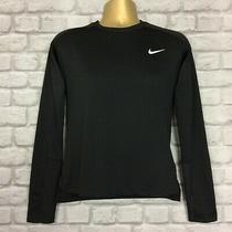 Nike Mens Uk Xs Black Element Dri Fit Running Top Reflect Long Sleeve Tshirt Ld Photo