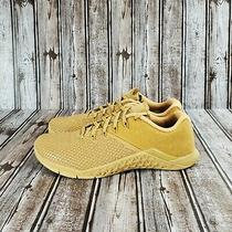 Nike Metcon 4 Xd Patch Element Gold Bq3088-700 New  Men's Size 10  Photo