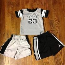 Nike Michael Jordan Baby/toddler Boys 3pc Set Size 18m Photo