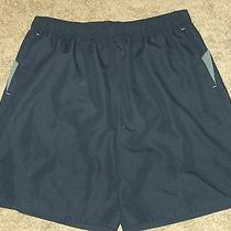 Nike Navy Blue Polyester Swim Trunks Board Shorts - Xxlt Tall - Nwt Photo