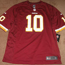 Nike Nfl Washington Redskins Game Football Rg3 Griffin Jersey Mens 2xl Xxl Home Photo