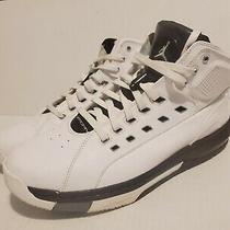 Nike Ol School 317223-113 Mens Sz 13 Air Jordan White/black/gray Sneakers Shoes Photo