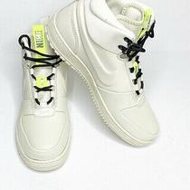 Nike Path Winter Sneaker Boots Men's Size 10 Fossil Off White Bone Sail New Photo