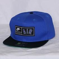 Nike Pro Air Snapback Cap Hat Royal Blue Black Av6721-480 Adult Unisex New Photo