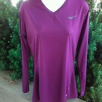 Nike Pro Fitted Shirt Womens Size L Large Pro Fit Photo