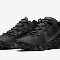 Nike React Element 55 Black Size 9 Us Mens Athletic Running Shoes Sneakers  Photo