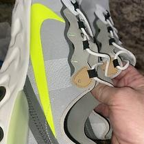 Nike React Element 55 Cargo Volt Bq6166-009 Men's Size 12 Tan Grey Running New Photo