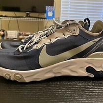 Nike React Element 55 Dallas Cowboys Mens Running Shoes 10.5 Navy Ck4801-400 Photo
