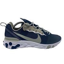 Nike React Element 55 Dallas Cowboys Mens Size 12 Running Shoes Navy Ck4801-400 Photo