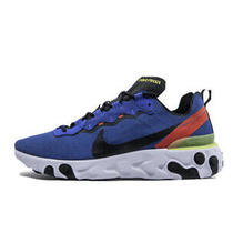 Nike React Element 55 Mens Size 10.5 Game Royal Blue Sneakers Shoes Bq6166 403 Photo