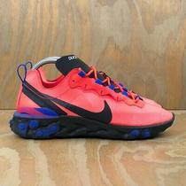 Nike React Element 55 Nikeid Running Hot Pink Duce (Cj5274-991) Women's Size 9.5 Photo