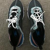 Nike React Element 55 Ocean Blue Black Men's Size 10 Womens 11.5 Photo