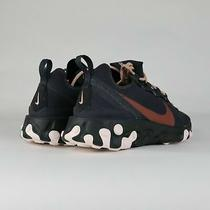 Nike React Element 55 Oil Grey Women's Running Shoes Ct1186-001 Size 7 New  Photo