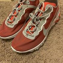Nike React Element 55 Osu Ohio State Buckeyes Sneakers Ck4798-600 Size 10 Laces Photo