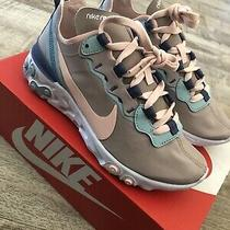 Nike React Element 55 Pumice Ck0834-200 Womens Running Shoes Size 5.5 Photo