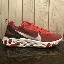 Nike React Element 55 Running Shoe Red Bq6166 601 Mens New Multiple Sizes Photo