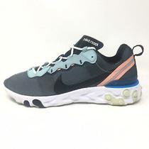 Nike React Element 55 Running Shoes Sneakers Blue Bq6166-300 Mens Size 9.5 M Photo