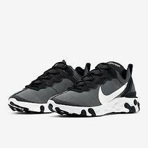 Nike React Element 55 Se Grey/white Mens Sneakers Ci3831-002 Size 8 Photo