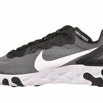 Nike React Element 55 Se Mens Running Shoes Black White Ci3831-002 Photo