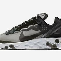 Nike React Element 87 Anthracite Black Aq1090-001 Running Shoes Men's Size 9 Photo