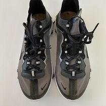 Nike React Element 87 Anthracite Black Running Shoes Aq1090-001 Men 6 Women 7.5 Photo