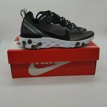Nike React Element 87 Anthracite Black Running Shoes Aq1090-001 Size 6 Photo