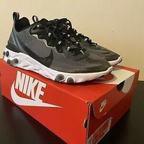 Nike React Element 87 Anthracite Black Sz 11 Sacai Waffle Blazer Sb Jordan Dunk Photo