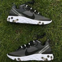 Nike React Element 87 Anthracite Mens Running Shoes Aq1090-001 Vapormax Sz 5 Photo