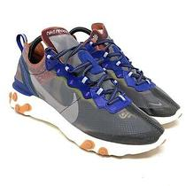 Nike React Element 87 Dusty Running Shoes Aq1090 200 Grey Multicolor Size 9 New Photo