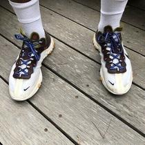 Nike React Element 87 Moss Green Aq1090-300 Size12 Men's Used Photo