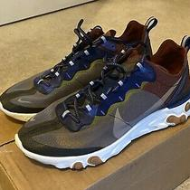 Nike React Element 87 Running Shoes Aq1090 200 Grey Multicolor Size 11 Photo