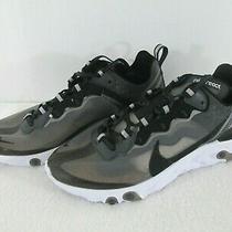 Nike React Element 87 Sneaker in Anthracite / Black-White Size 10 womens/8.5 Men Photo
