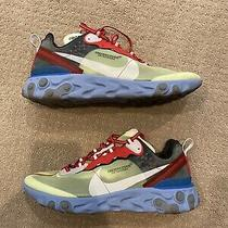 Nike React Element 87 Undercover Volt - Size 11 - Preowned With Box Photo