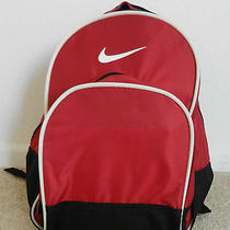 Nike Red Black Backpack Bag Photo