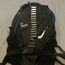 Nike Reflective Elements Engineered Ultra Light Running Backpack 15l Black Blue Photo