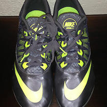 Nike Rival S Gray/green Running Racing Sprint Track Cleats Shoes Men's Sz 13 Photo