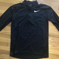 Nike Running Dri-Fit Element Half-Zip Sweat in Black 857820-010 Size Medium Photo