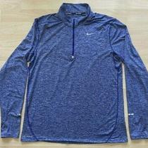 Nike Running Element Running Shirt Dri-Fit Pullover Heather Men's L  683485 Photo