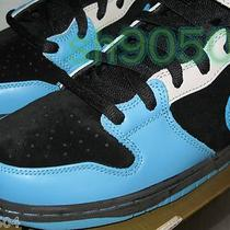 Nike Sb Aqua Fuel Blue Size 13 Dunk Mid Pro 2008 Ds Nib New Very Rare  Photo