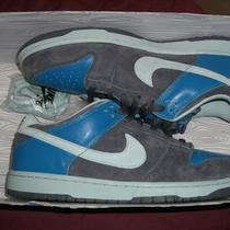 Nike Sb Dunk Low Sz 12 Aqua Chalk Blue Supreme Photo