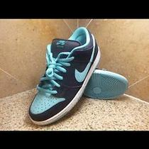 Nike Sb Untiffany Rare Heat Pro Low Dunk Dunks Teal Aqua Blue Photo
