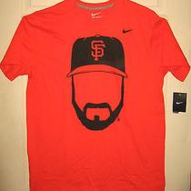 Nike Shirt Xl Nwt Brian Wilson Design Sf Giants Beard New With Tags Oop Rare Htf Photo