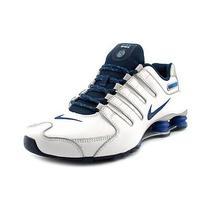 Nike Shox Nz Eu Mens Size 9.5 White Sneakers Shoes New/display Photo