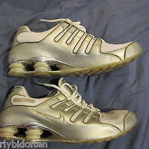 Nike Shox Nz Size 12 Mens Running Shoe Rare R4 11 Shoes Shiny Used Worn Photo